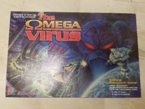 The Omega Virus Board Game 1990s (Brand New, Rare)!