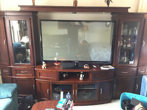 Large 3 piece entertainment centre