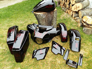 2016 Street Glide custom painted tins and plastics