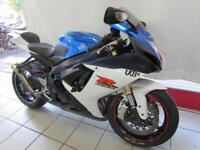 SUZUKI GSXR750 L1, 61 REG FITTED WITH AKRAPOVIC GP EXHAUST AND DE-CAT, TAIL TIDY