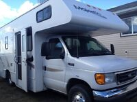 2006 Ford majestic 23 1/2 foot motorhome