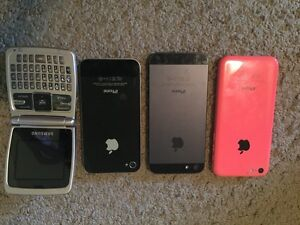 Old Cell Phones (iPhone, Samsung)
