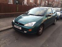 Ford Focus Zetec 1.8 Petrol - 3 Door