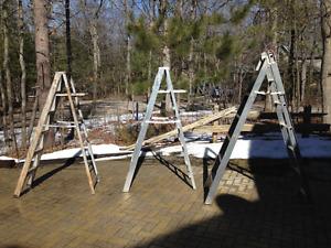 Ladders aluminum step