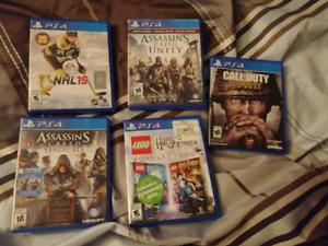 Jeux de PS4 ( cadeau de Noël)