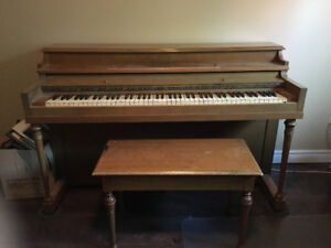 Piano played by 3 generations