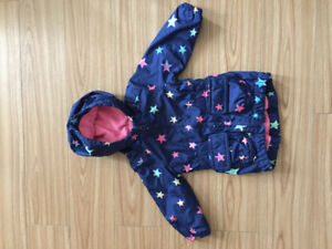 6-9 month fleece lined jacket