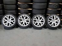 "18"" Edition 35 Style Alloy Wheels and Tyres for a MK5, MK6, MK7 Golf, Jetta, Passat, Caddy ETC"
