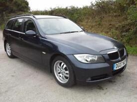 2007 BMW 320 2.0TD auto d ES Touring DAMAGED SPARES OR REPAIR SALVAGE