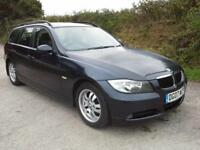 2007 BMW 320 2.0TD auto d ES Touring DAMAGED SPARES OR REPAIR SALVAGE