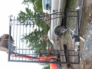 20 FT WROUGHT IRON GATE NEW