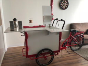 Tricycle Vending Cart