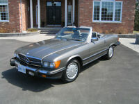 1987 560SL Convertible - Completely Updated, Better than New