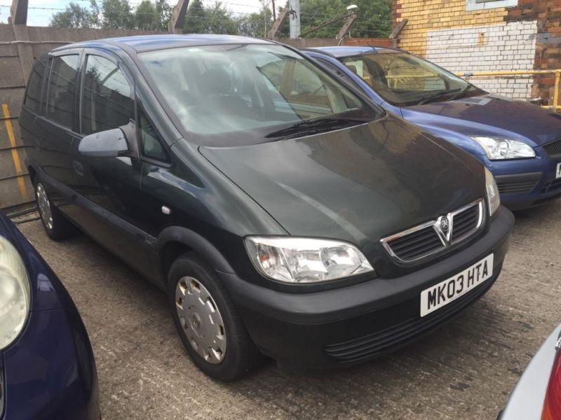 2003 vauxhall zafira 1 8 i 16v club 5dr in small heath west midlands gumtree. Black Bedroom Furniture Sets. Home Design Ideas