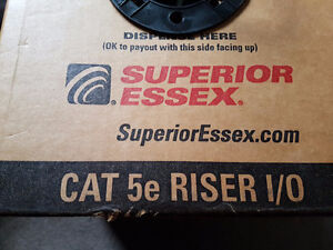 Aprox 960 feet of CAT5e cable