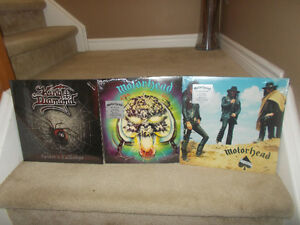 "MOTORHEAD  AND KING DIAMOND  Vinyl Records""SEALED"""