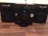 Bush Hi-Fi 5CD changer, very loud