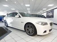 2012 12 BMW 5 SERIES 520D M SPORT AUTO 181 BHP DIESEL