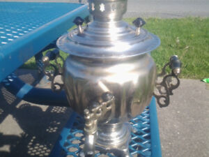 russian samovar pot from 1986 electric will trade for WHY???