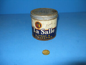 Canne boite a tabac vintage Lasalle