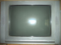 "Large 27"" Electrohome television w/remote - $20"