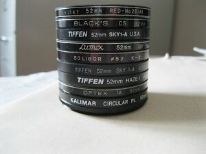 52 mm Filters