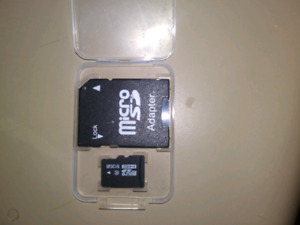 512GB MicroSD with adpter