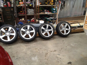 20in CAMARO SS rims and tires MINT VERY LOW MILLES
