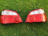 Subaru wrx sti blobeye bugeye hawkeye crystal rear lights