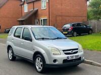 LHD 2004 Suzuki Ignis 1.3 GL..One owner..Low miles..FSH..U K reg left hand drive