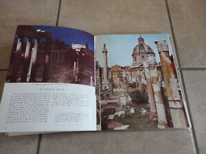 LOT OF 2 BOOK ALL ROME THE VATICAN AND SISTINE CHAPEL & ROME London Ontario image 3