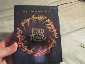 The lord of the Rings Blu-ray collection