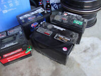 WE SALE CAR BATTERIES SIED AND TAP POST good used we have 20 bat