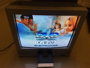 """20"""" Electrohome TV with built-in DVD player in excellent cond."""