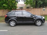 2008 CHEVROLET CAPTIVA 2.0 DIESEL, 7 SEATER, MOT 12 MONTHS, FULL LEATHER HEATED SEATS, HPI CLEAR