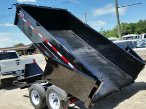 Dump Trailer for Rent - Daily Weekly Rental