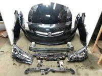 VAUXHALL ASTRA J FRONT END PARTS ( BONNET BUMPER GRILLS WING HEADLIGHT USED ) ASK FACELIFT