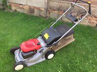 Honda hrb475 4 wheel rotary lawnmower