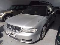 Audi A4 1.8T Quattro Sport. Genuine Spec Very good Car lowered Excellent Working Order