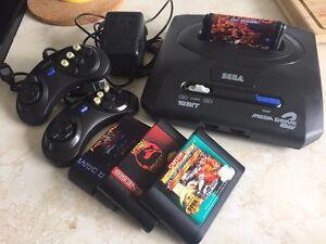 SEGA Mega Drive 2 Genesis - Japan model