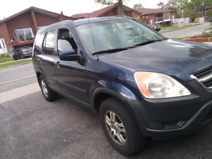 2004 Honda cr-v ex awd $3700 5spd manual