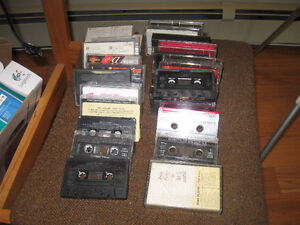 VINTAGE OLD MUSIC CASSETTES.   31 OF THEM