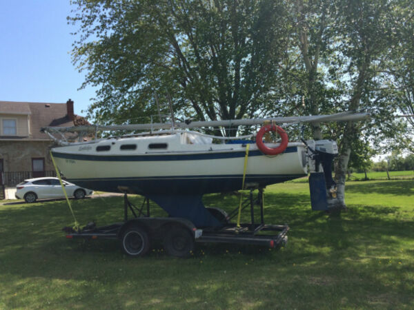 Used 1973 Other 22ft. Tanzer with Honda 7.5 motor and trailer