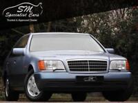 1994 MERCEDES-BENZ S CLASS 5.0 500 SE 4D AUTO 231 BHP