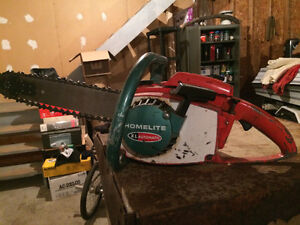 Homelite XL Automatic Chainsaw