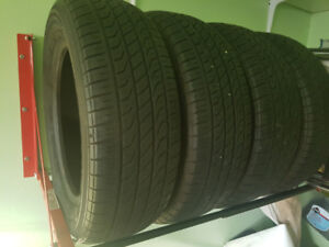 All season Tires P 195/65 R 15 -4 mint condition