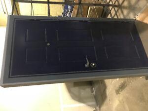 Security modern steel door