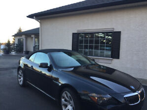 BMW 6 Series 650i convertible