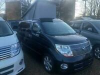 2008 Nissan Elgrand Highway Star Mistral Camper 4 berth 5 door Motorhome