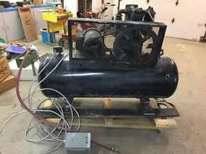 Sanborn Heavy Duty Industrial Air compressor